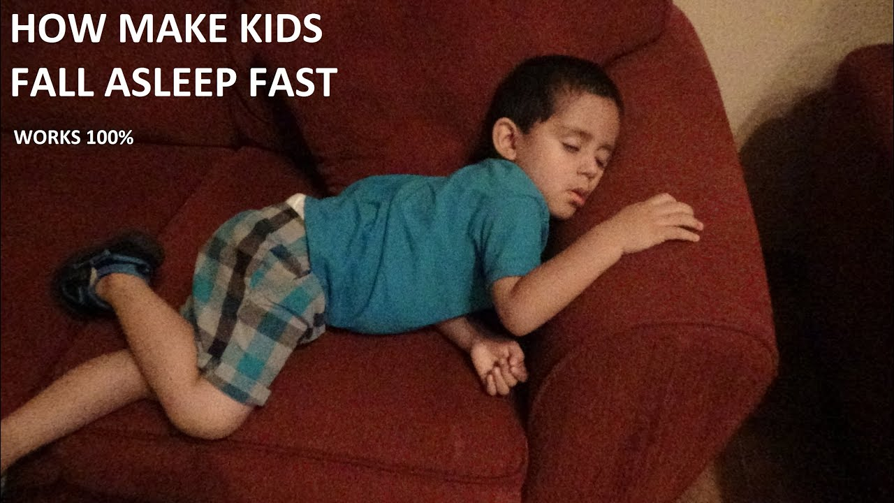 How Make Your Baby Or Kids Fall Asleep 100%fast