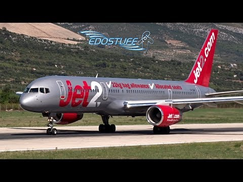 Jet2 - Boeing 757-21B G-LSAI - Takeoff from Split Airport LDSP/SPU