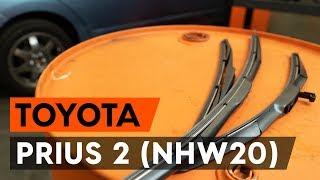 Como mudar Calços de travão TOYOTA PRIUS Hatchback (NHW20_) - tutoriais