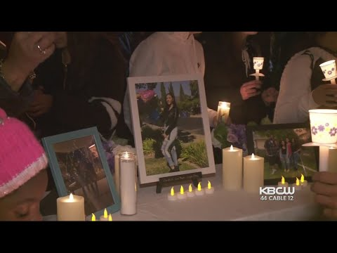 Vigil Held For 2 Teen Girls Killed In Antioch Crash