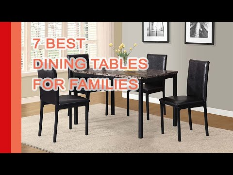 Best Dining Tables 2017 | Select The 7 Perfect Modern Dining Tables