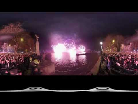 London New Years Eve Fireworks 2017 & Auld Lang Syne