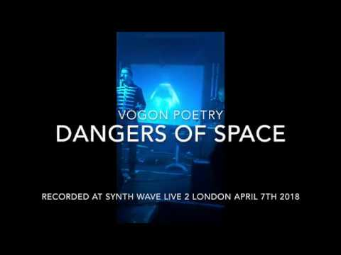 Vogon Poetry - Dangers of Space (Live @ Synth Wave Live 2 London 2018)