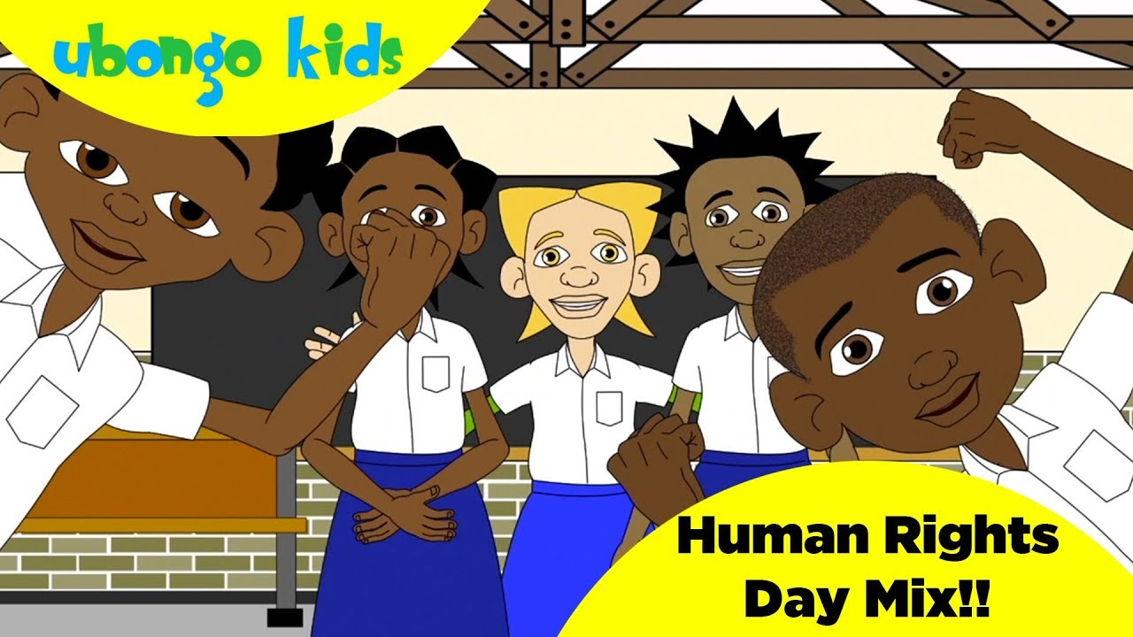 Human Rights Day Song Mix | Celebrate Human Rights with Ubongo Kids | African Edutainment