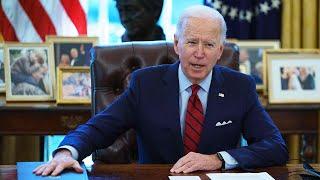 video: Joe Biden revokes anti-abortion 'global gag rule' as he unravels Trump-era health policies