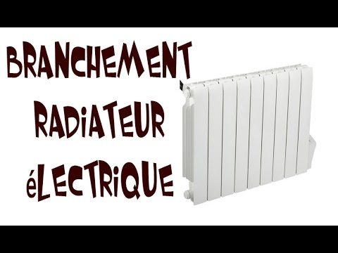 branchement radiateur lectrique youtube. Black Bedroom Furniture Sets. Home Design Ideas