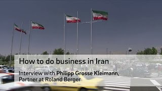 How to do business in Iran