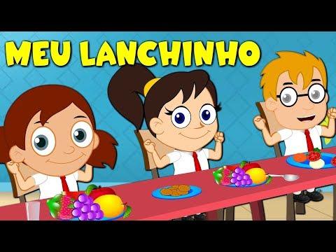 Meu Lanchinho  - Música Infantil - Canções Populares