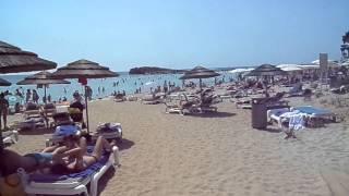 Пляж Нисси Бич в Айя Напе Video