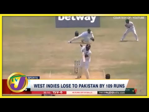West Indies Lose to Pakistan by 109 Runs - August 24 2021