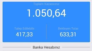İnternetten Para Kazan MOBİLON'la 1.050 Tl Nasıl Kazanılır .