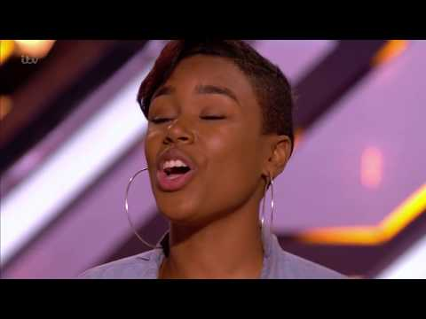 The X Factor UK 2017 Deanna from Anguilla Audition Full Clip S14E04