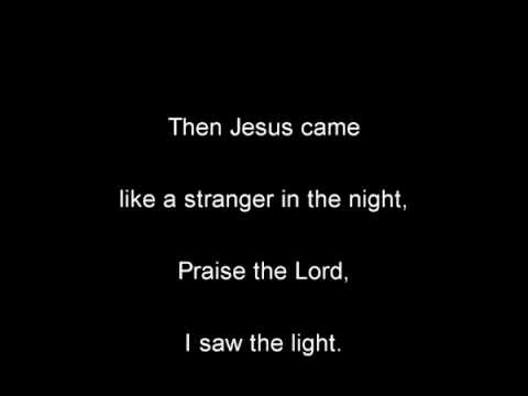 Hank Williams - I Saw The Light Lyrics
