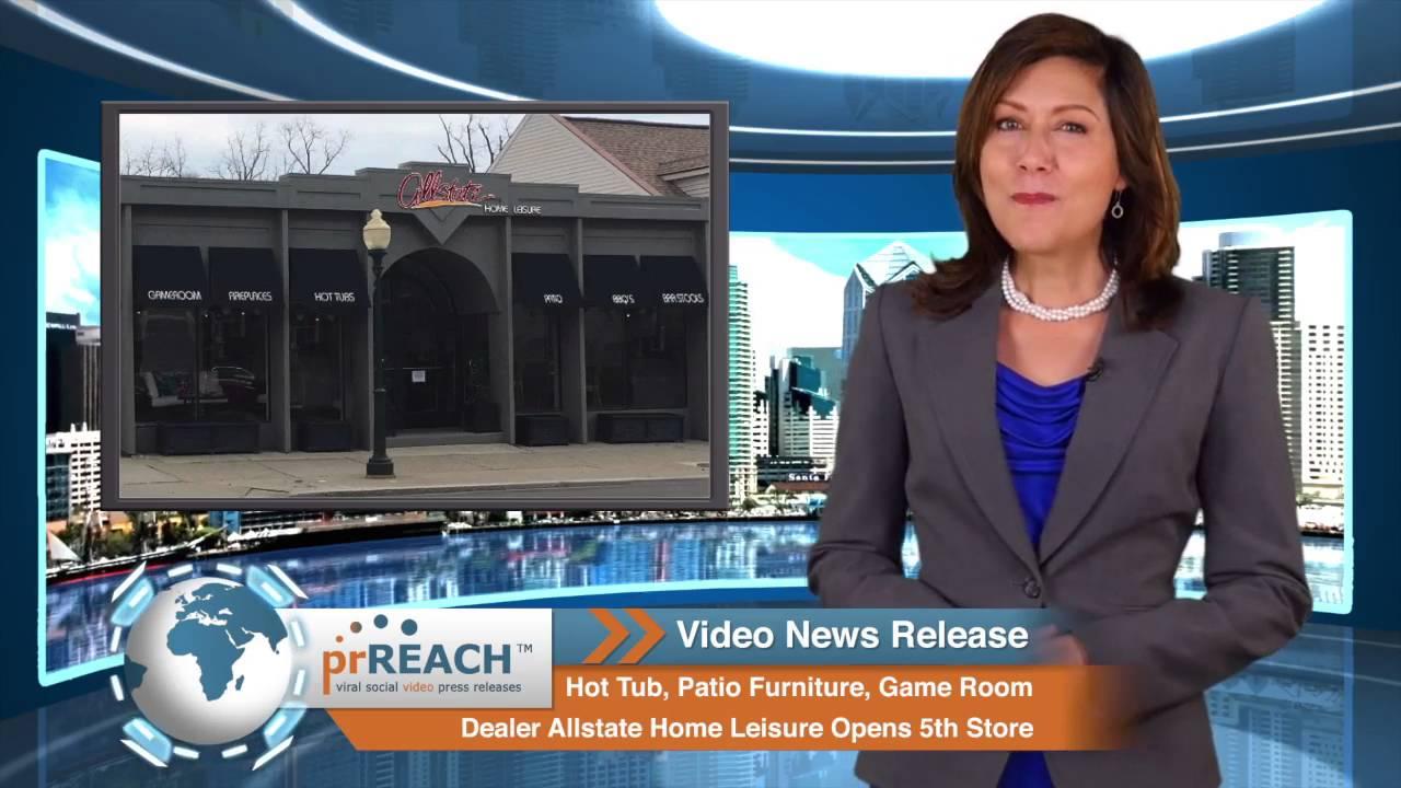 Allstate Patio Furniture.Hot Tub Patio Furniture Game Room Dealer Rochester Mi Opens 5th Store Mi