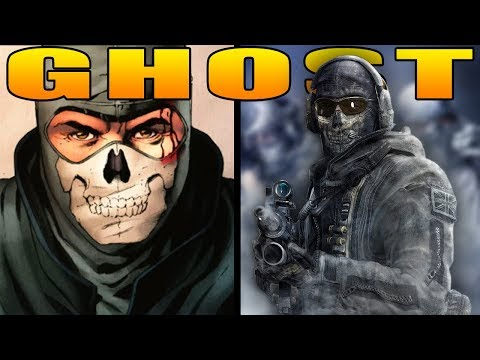 "The Full Story of Simon ""GHOST"" Riley (Modern Warfare Story)"