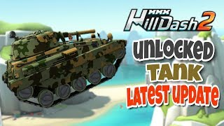 UNLOCKED 😱 TANK 😱 - Mmx Hill Dash 2 | Latest Update More New Stages & New Cars | HUTCH GAMES