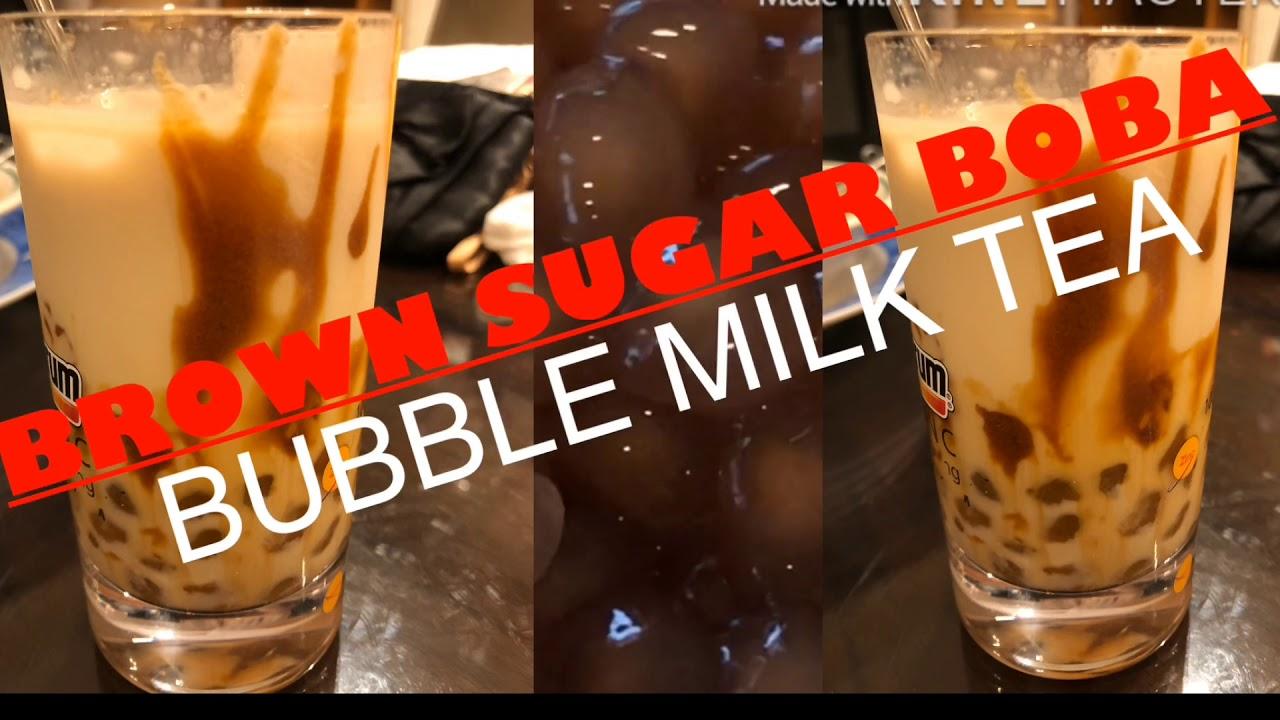 Cara Membuat BOBA/Bubble Milk Tea - YouTube