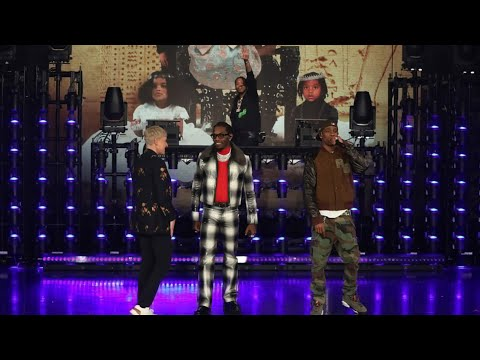 """b2a732d024de Offset and Travis Scott Preform """"Legacy"""" Live on the Ellen Show - YouTube"""
