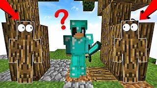 PERSONNE NE PEUT VOIR NOTRE PIÈGE ! | Minecraft