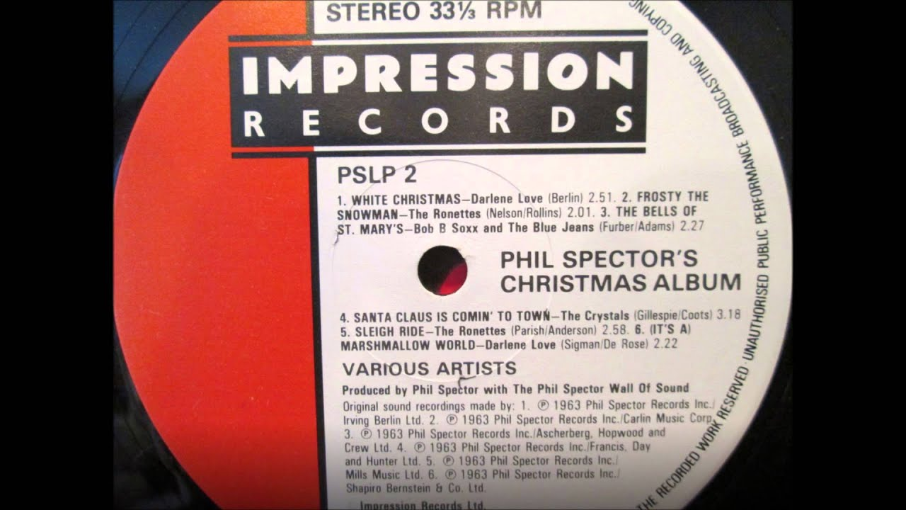 Ronettes - Sleigh Ride (True Stereo) - YouTube