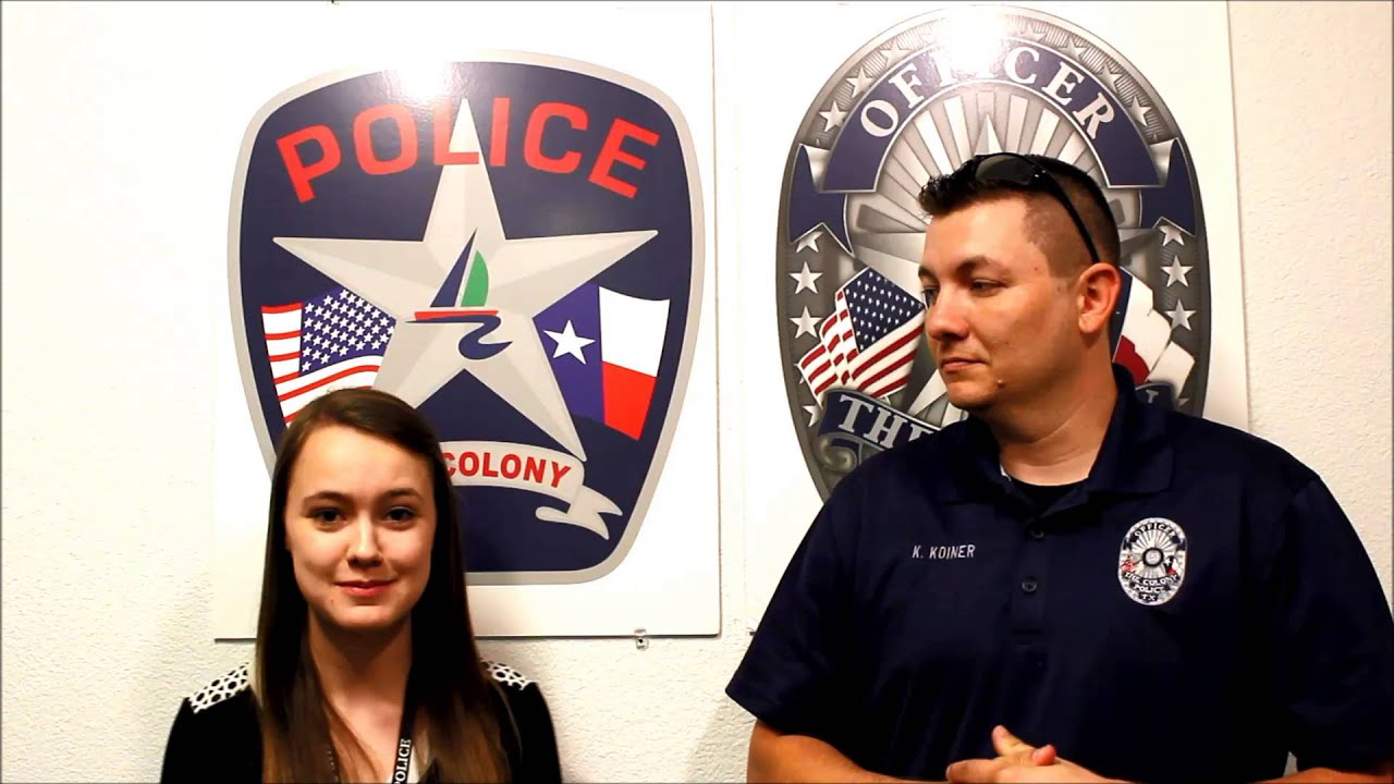 The Colony Police Meet the Staff Records Clerk Kirsten YouTube – Records Clerk