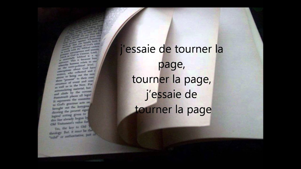 Tourner La Page (PAROLES)