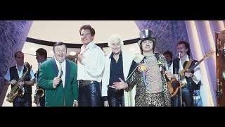 Heinz, Lord Sutch, Jess Conrad & Wee Willie Harris on Little & Large Show