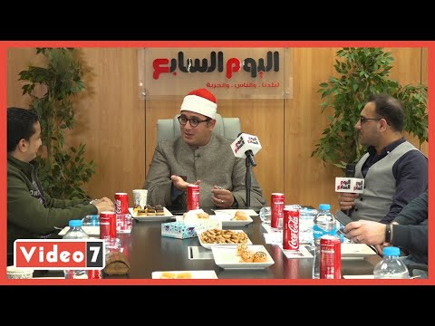الشيخ محمود الشحات: جالى رسول فى المنام وصعدت للسماء السابعة