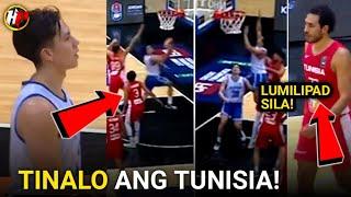 Gilas GINULAT ANG TUNISIA!Panalo na NATALO PA! GILAS vs TUNISIA FULL GAME HIGHLIGHTS!