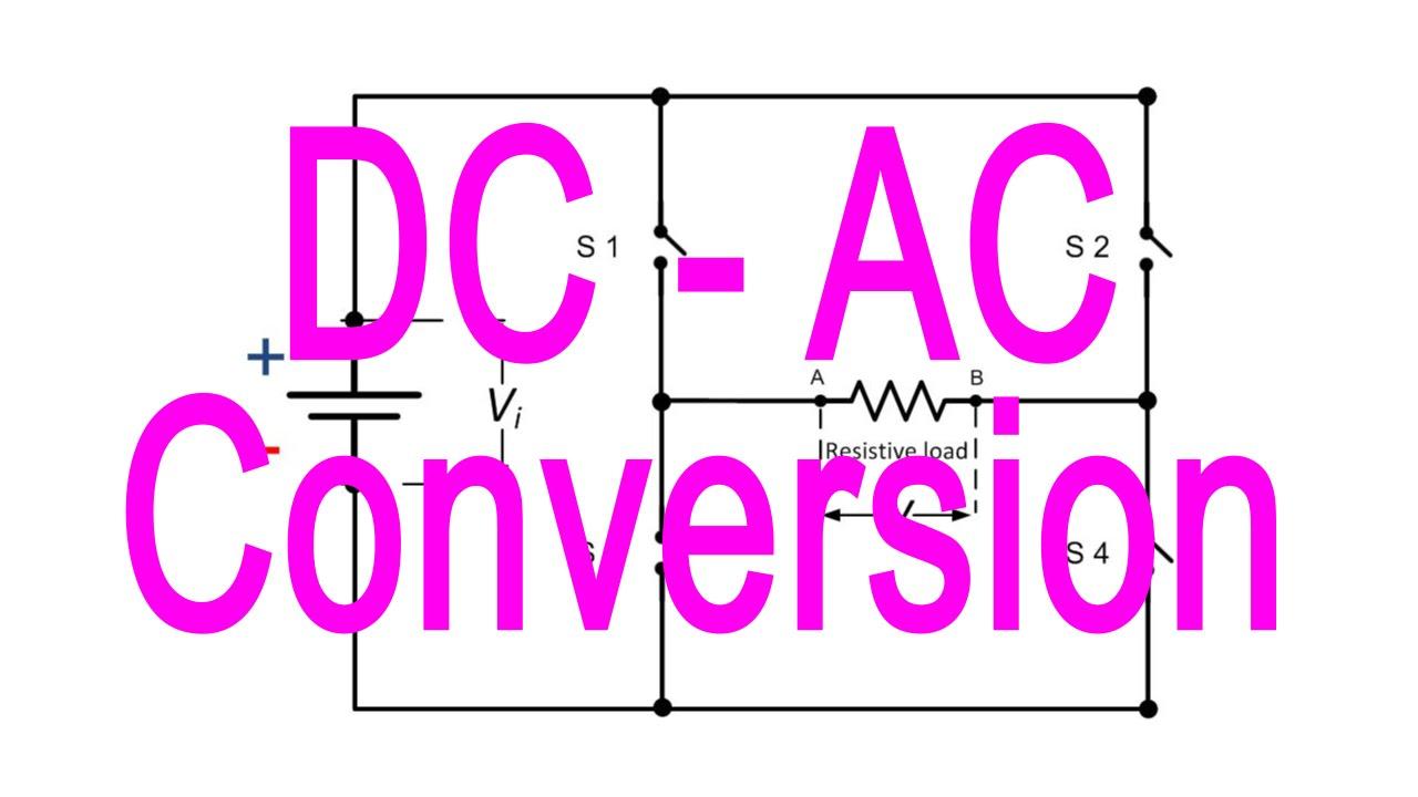 Ac To Dc Converter How It Works Public Circuit Using Bridge Inverter Youtube