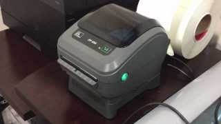 ZP 450 Zebra thermal postage printer overview