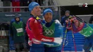JO 2018 : Ski de fond - Team sprint - Finale hommes : Manificat et Jouve en bronze !