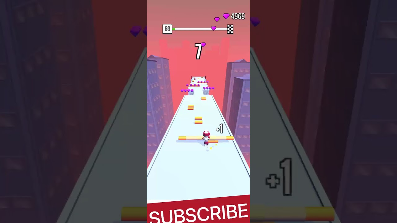 My Roof Rails Game Level - 69 Video, Best Android GamePlay #41./#FireShorts /#RoofRails  #shorts