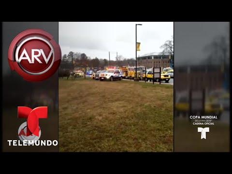 Nuevo tiroteo escolar estremece a Estados Unidos   Al Rojo Vivo   Telemundo