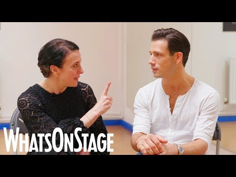 Amanda Abbington and Danny Mac  A Little Princess musical  Interviews