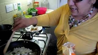 Quorn Recipe Assyrian Kubba Hamuth; Vegetarian Dumpling Stew  Part 1/4