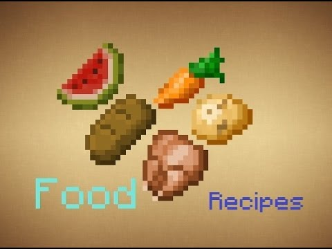 Minecraft food recipes updated to 110 youtube forumfinder Gallery