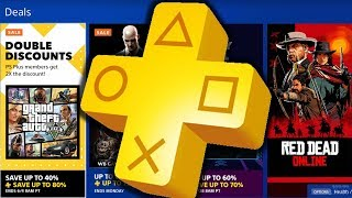 PS PLUS Double Discounts before JUNE 4th 2019 WB Games Sale