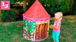 видео Обзор игровых домиков и палаток для детей
