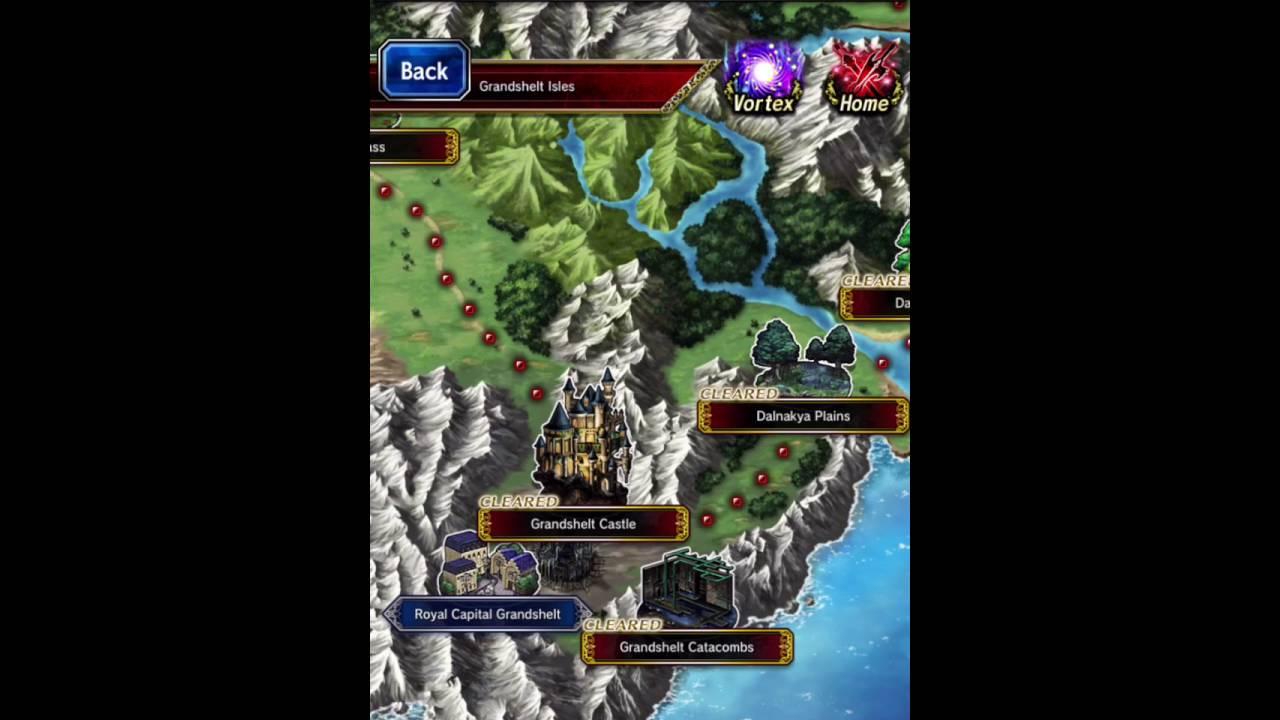 Brave Exvius World Map