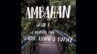 Ambahan (project In Music 8) - Perpetual Help Learning Academy Of Qc, Group 3