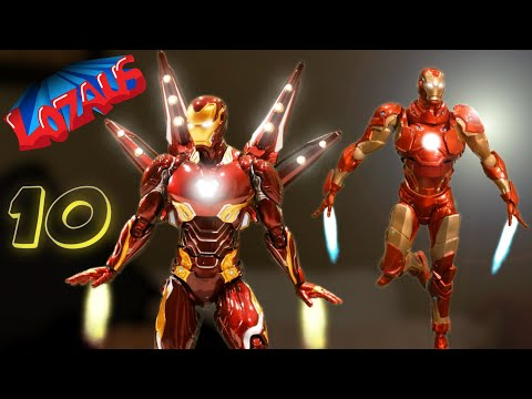 IRONMAN Stop Motion Action Video Part 10