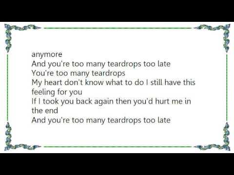 Jean Shepard - Too Many Teardrops Too Late Lyrics