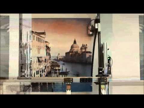 Vertical Printing Team final wall art
