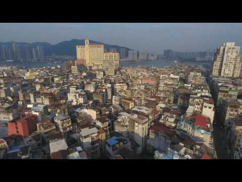 2017 Macau from My Drone