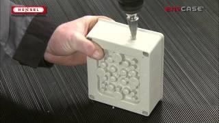 DK-Einführung bohren / DK-Drill cable entry