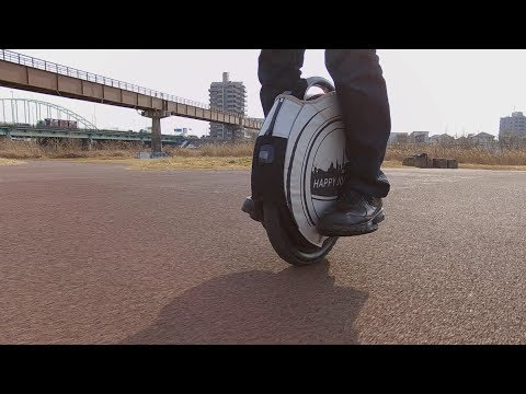電動一輪車(INMOTION V8)のある、休日の過ごし方