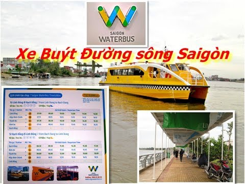 Saigon Waterbus Tour & The Map of Itinerary - Part 2