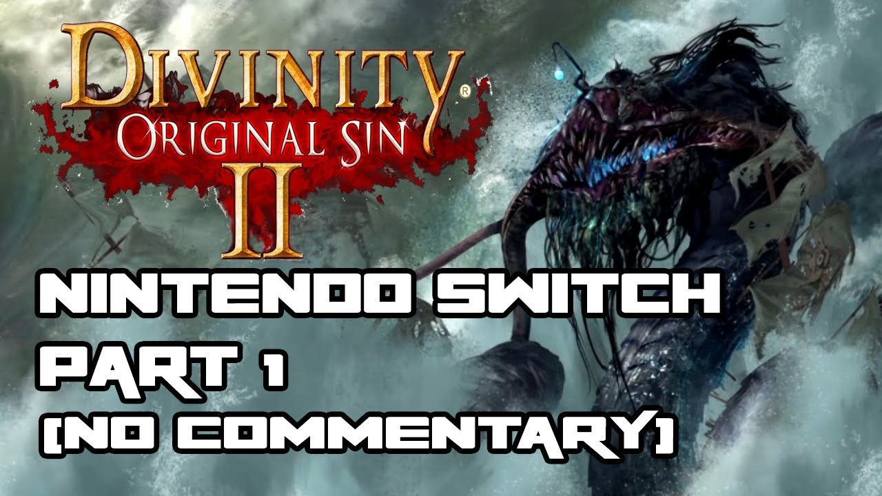 DIVINITY: ORIGINAL SIN 2 - DEFINITIVE EDITION for Nintendo Switch Part 1  (No Commentary)