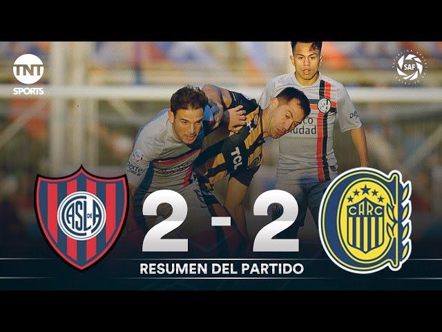 Resumen de San Lorenzo vs Rosario Central (2-2) | Fecha 3 - Superliga Argentina 2019/2020